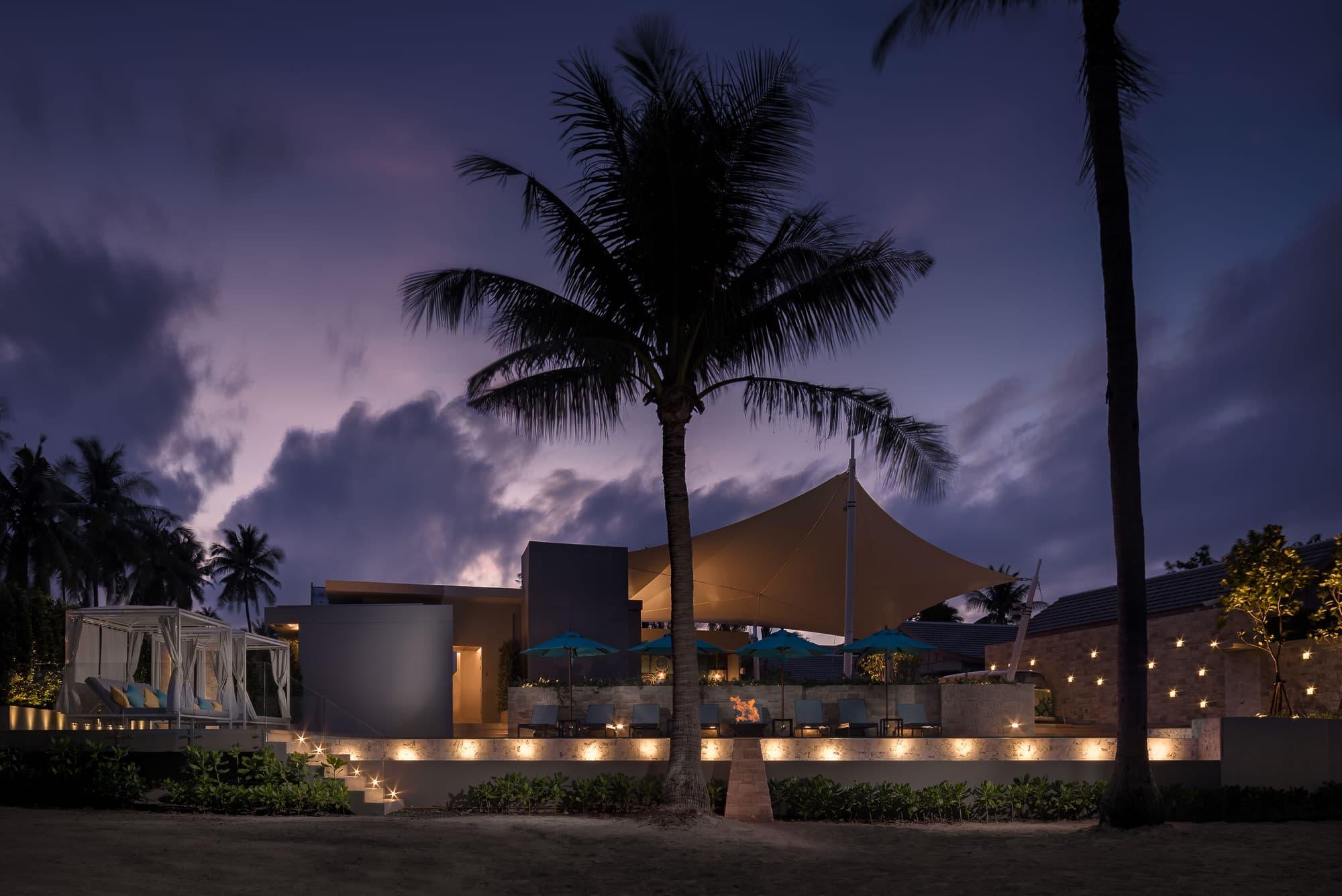 luxury hotel photography in koh samui thaland