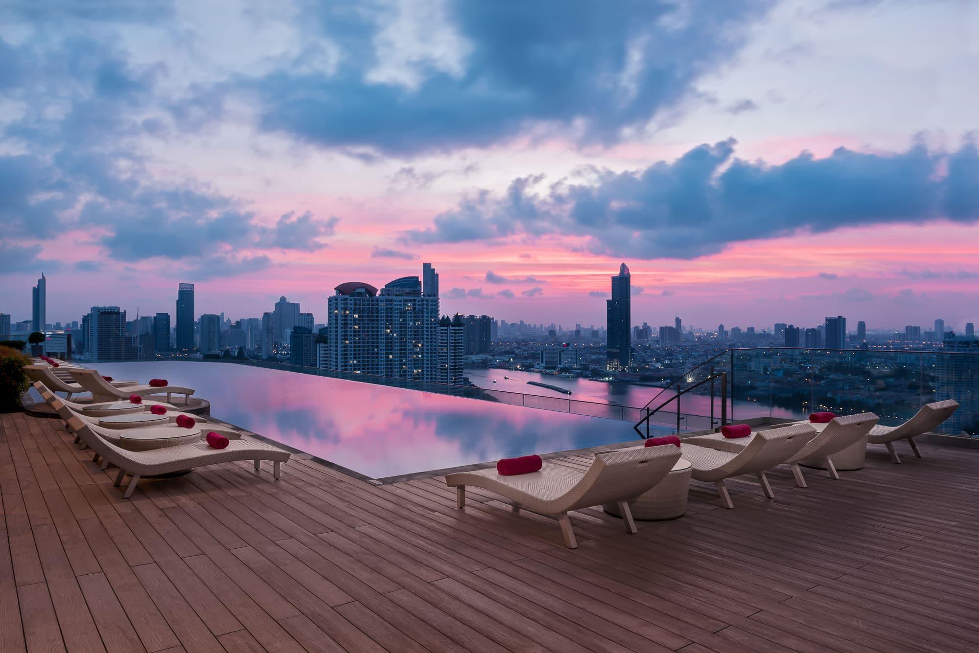 luxury hotel photography in bangkok thaland