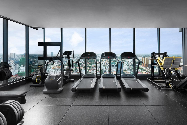 top 10 hotel ota photographs - gym